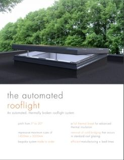 the sieger automated rooflight system