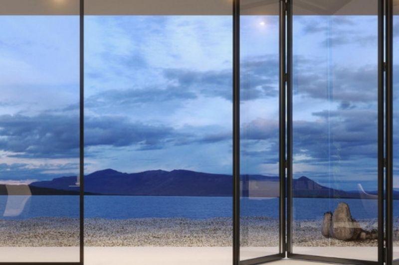 aluminium lux bifold the slimmest bifold door