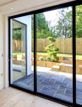slimline aluminium slim sliding doors