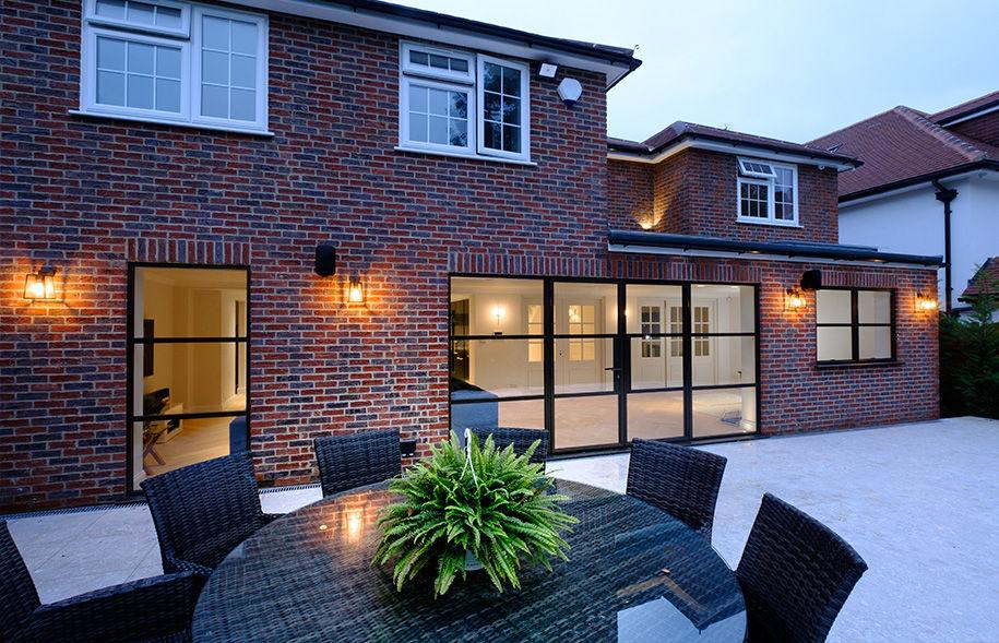 Steel look glazing, aluminium windows and doors