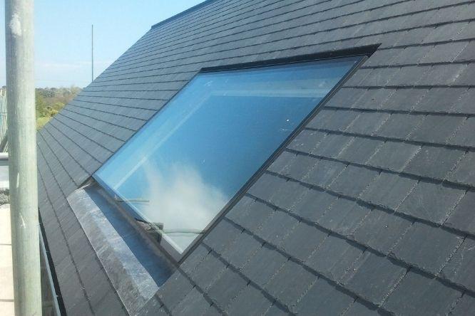 flush rooflight system - legacy conservation rooflight - minimal rooflight system