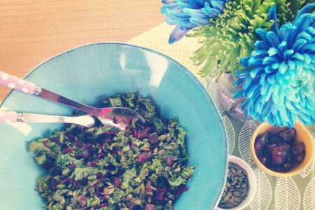 Chopped Kale & Beet Salad Recipe thumbnail