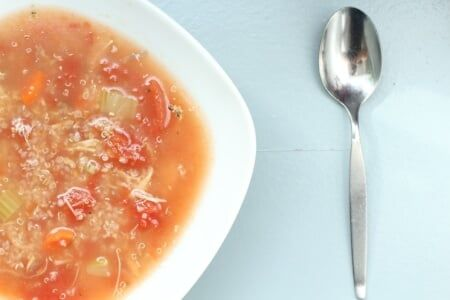 Turkey Quinoa Soup thumbnail