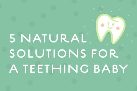 5 Natural Solutions for a Teething Baby thumbnail