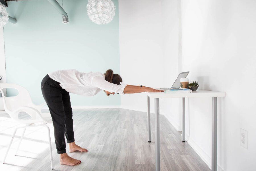 The New and Trendy Desk Yoga thumbnail