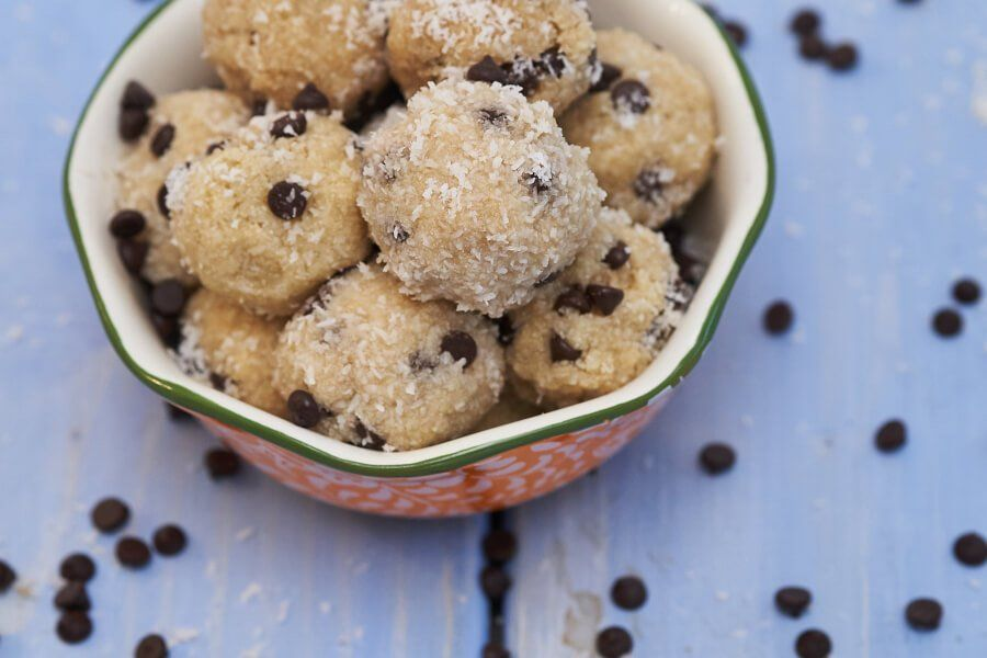 Collagen Chocolate Chip Snowballs thumbnail