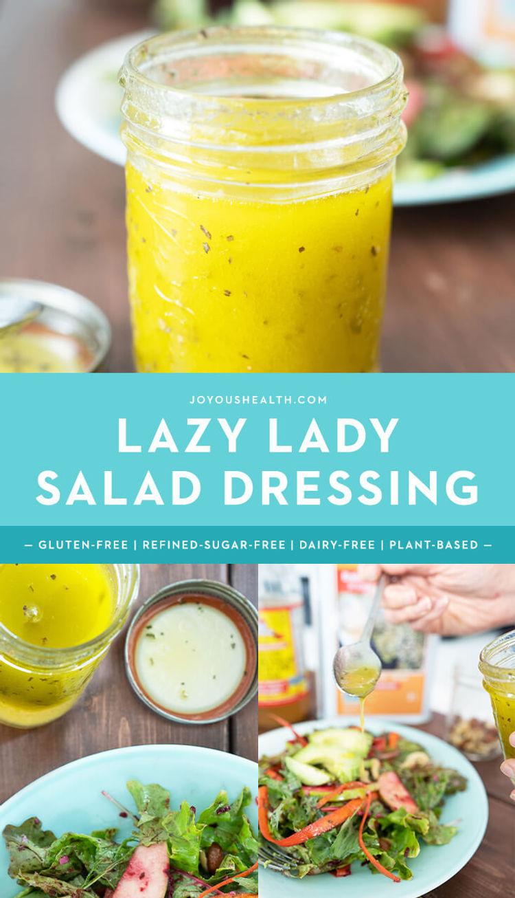 Lazy Lady Salad Dressing Pinterest