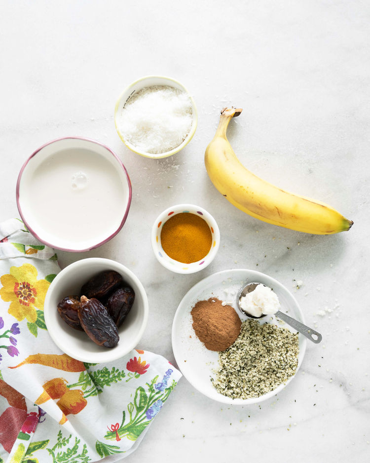 Golden Smoothie Ingredients
