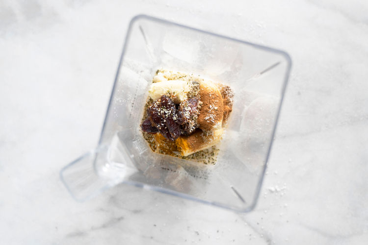 Turmeric Golden Smoothie Ingredients