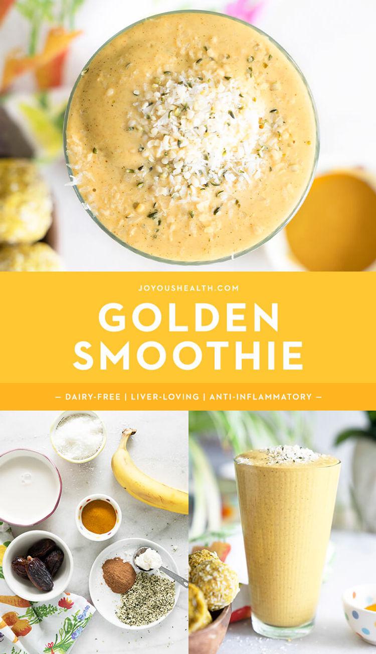 Golden Smoothie Pinterest