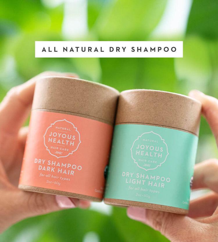 Joyous Health Dry Shampoo