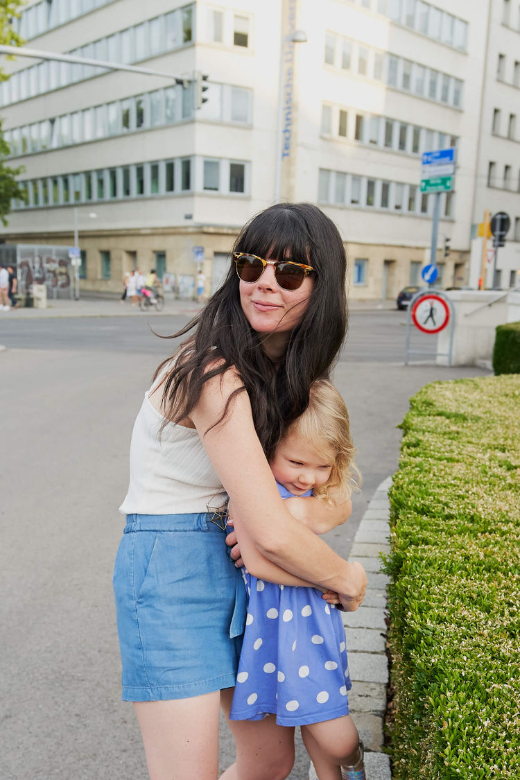Vienna and Joy / Mother and Daughter