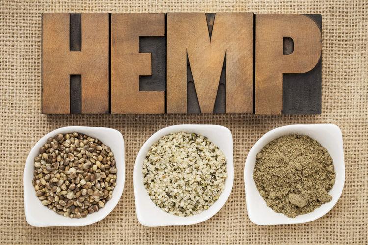 hemp hearts, hemp protein