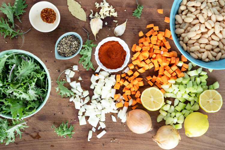 ingredients in soup