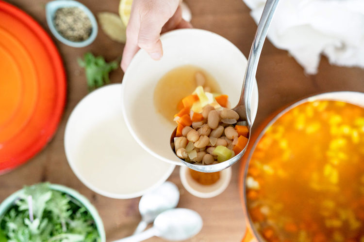 smoky white bean soup