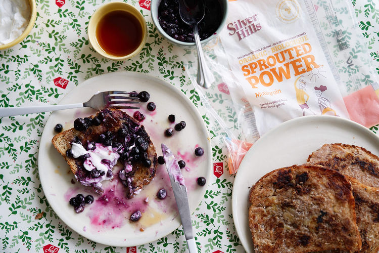 Silver Hills Sprouted French toast