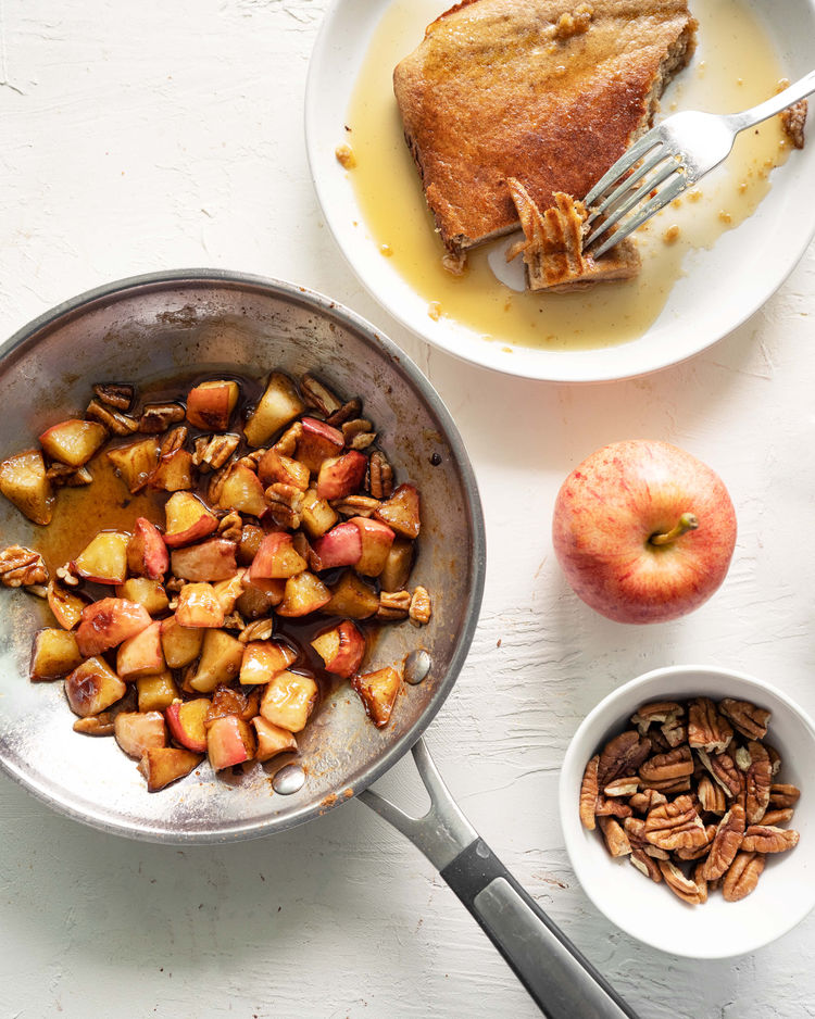 apple topping for pancakes