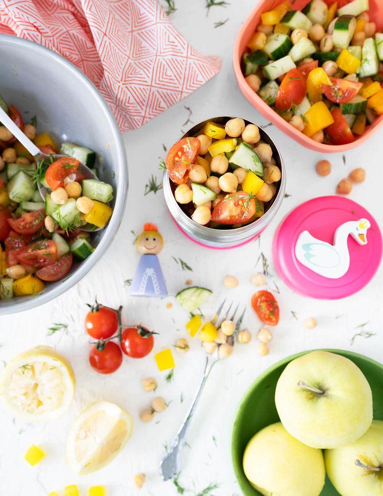 Chickpea Yum Yum Salad
