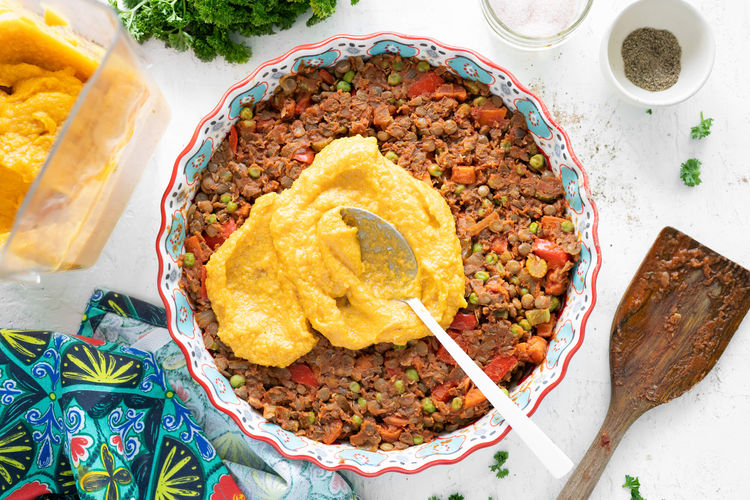lentil squash pie
