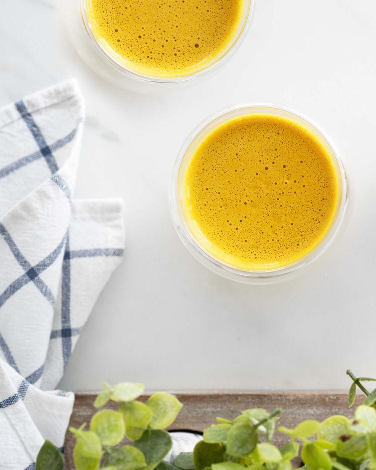 turmeric collagen latte