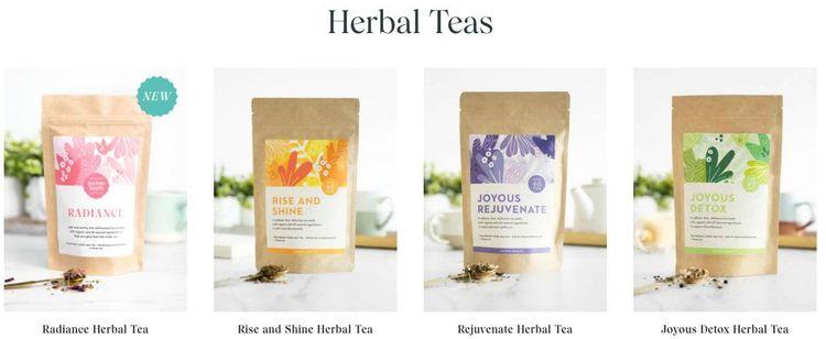 Joyous Health Organic Teas
