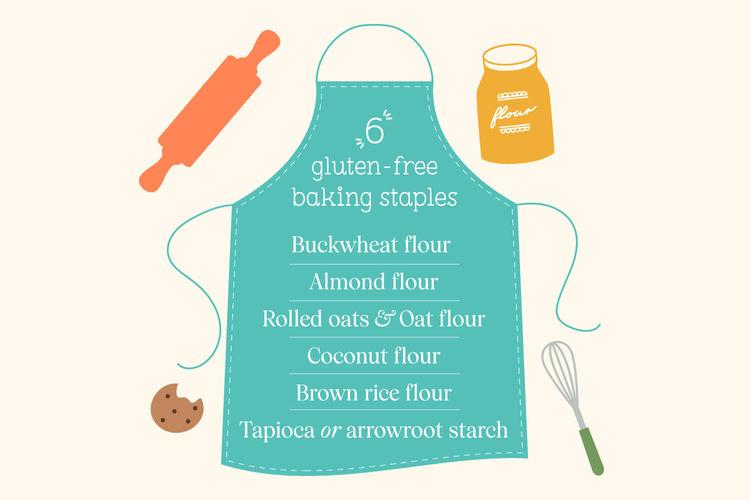 gluten-free baking staples