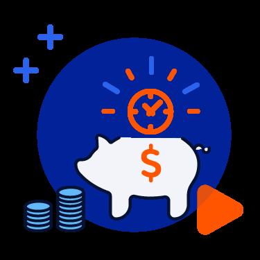 Automade-ikona-automatyzacja oszczędza czas i pieniądze