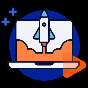 Automade-ikona-automatyzacja przyspiesza procesy biurowe