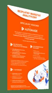 bezpłatny warstat analityczny Automade voucher