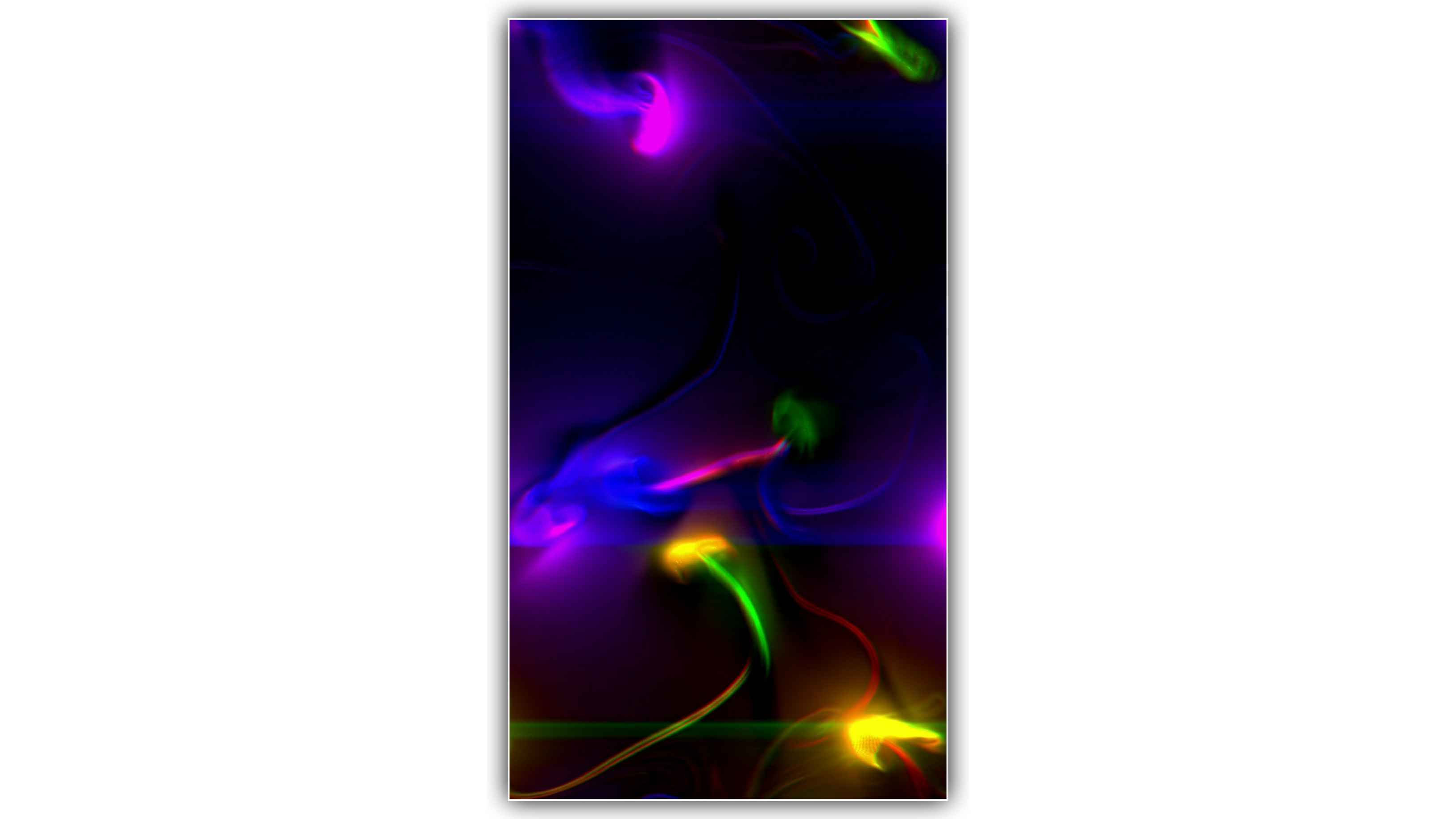 Colorfull Smoke Gass Effect Background Video Full Screen