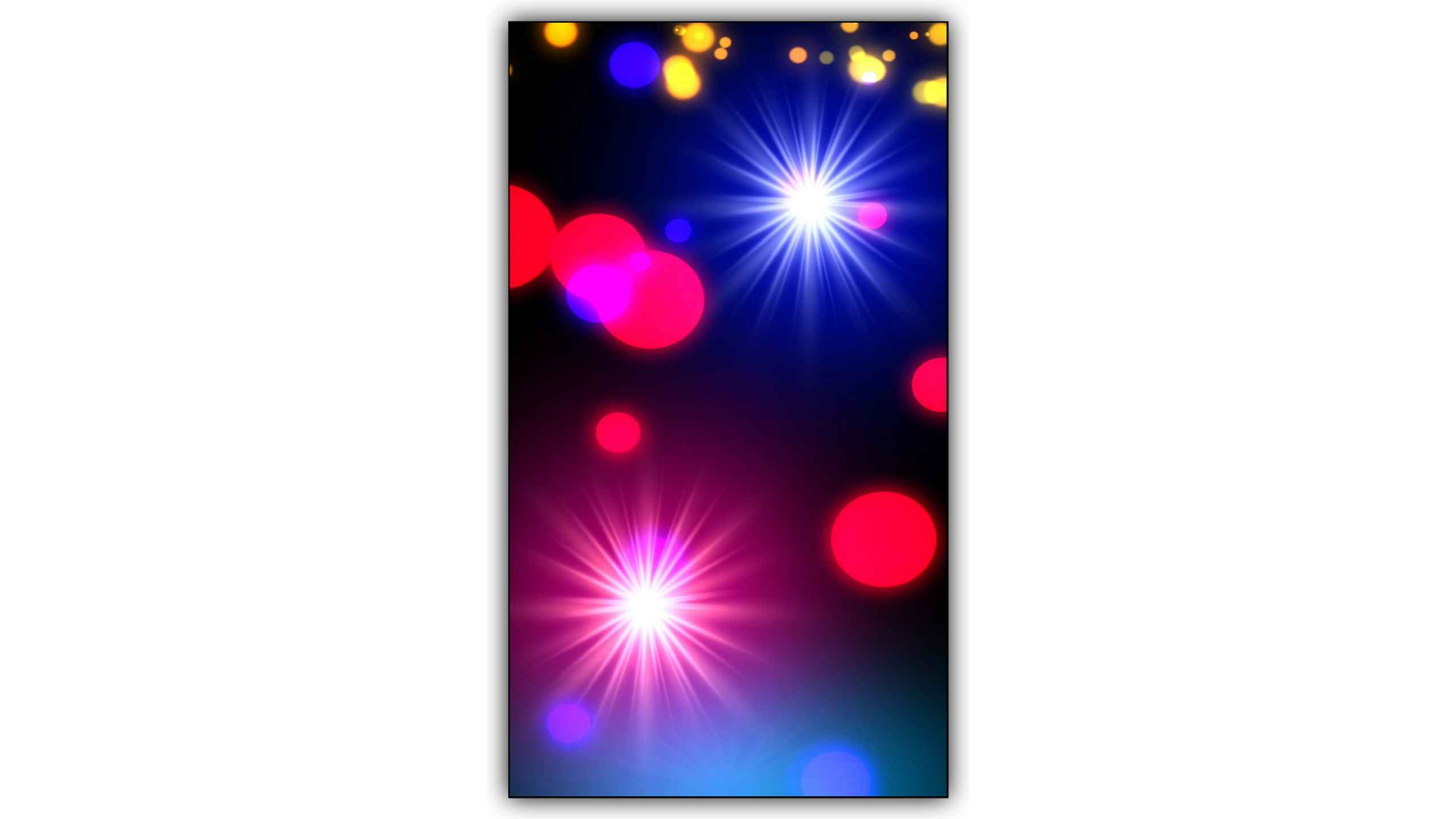 Police Star Light Video Effect Background Full Screen Kinemaster Template Free Download