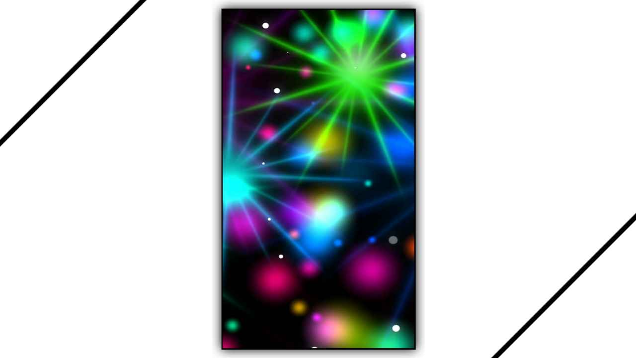 Color Drop Light Particles Background Effect For Kinemaster Template Free Download 2021
