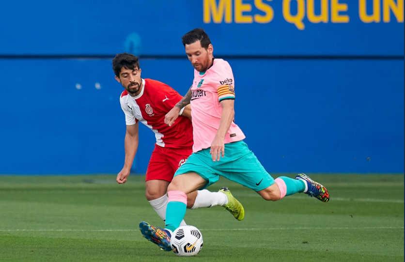 मैत्रीपूर्ण खेलमा बार्सिलोनाको जीत, मेसीले गरे दुई गोल