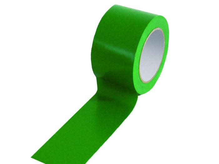 Green 75mm Floor Tape