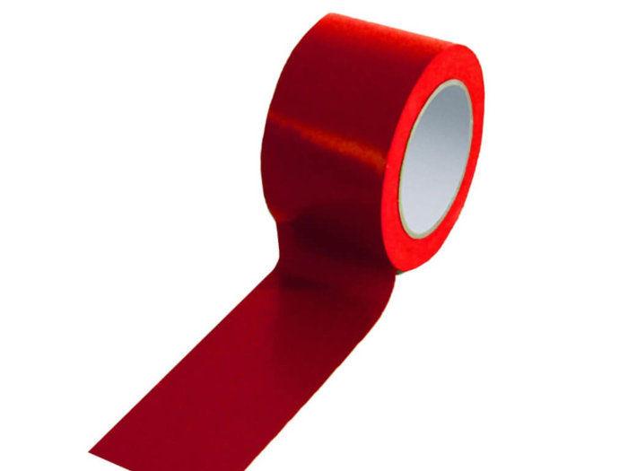 Red 75mm Floor Tape