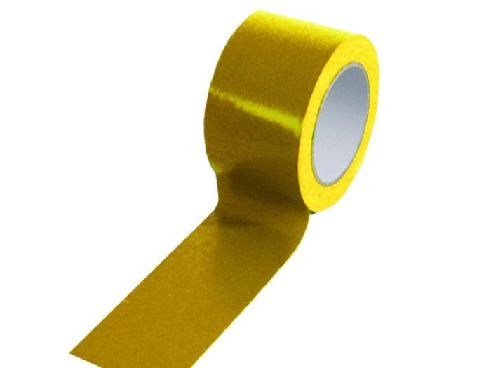 Yellow 75mm Floor Tape