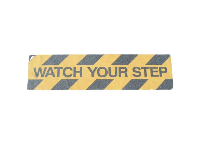 Watch Your Step Stair Tread