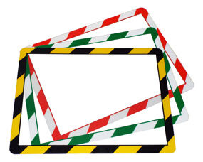 Self-adhesive Frames4Docs (+ hazard)