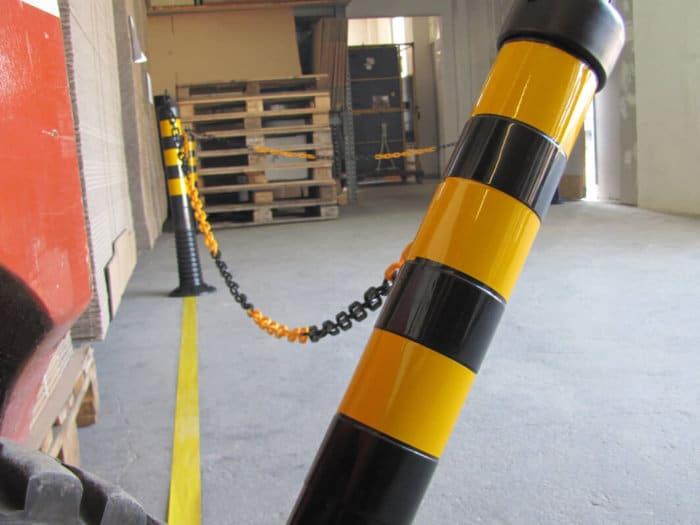 Flexi-Delineator Black / Yellow