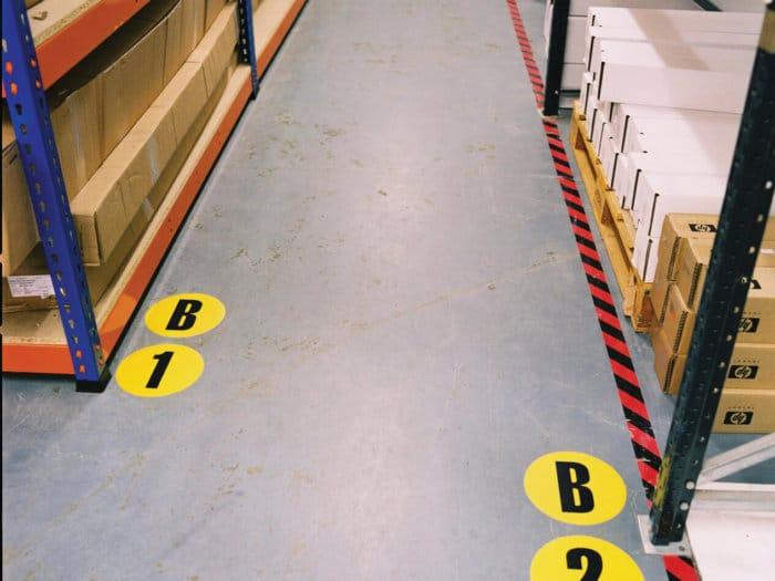 Floor Numbers & Letters
