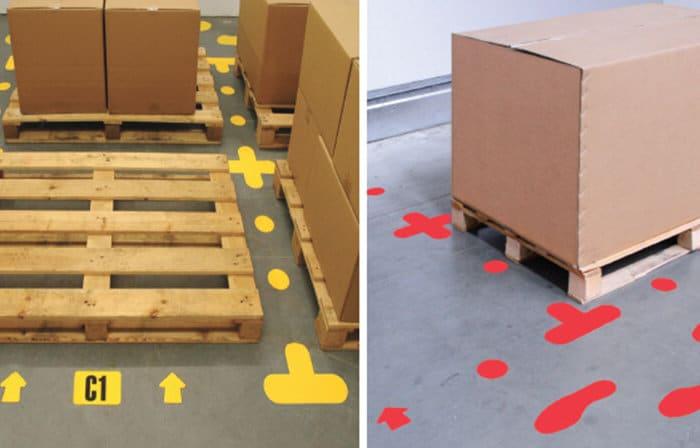 Floor Signal Markers