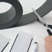 Magnetic Label Holders - Rolls Cut