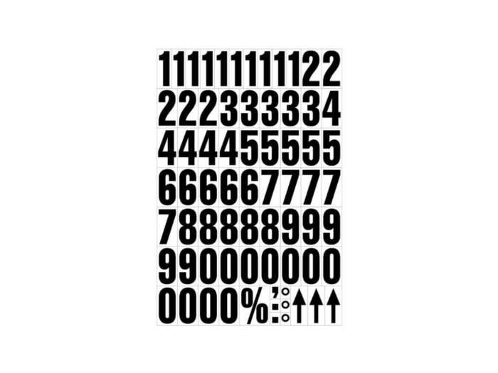 Magnetic Numbers 43mm