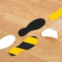 Anti Slip Foot Prints