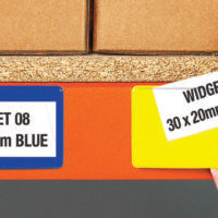 Magnetic Ticket Pouches on Racking