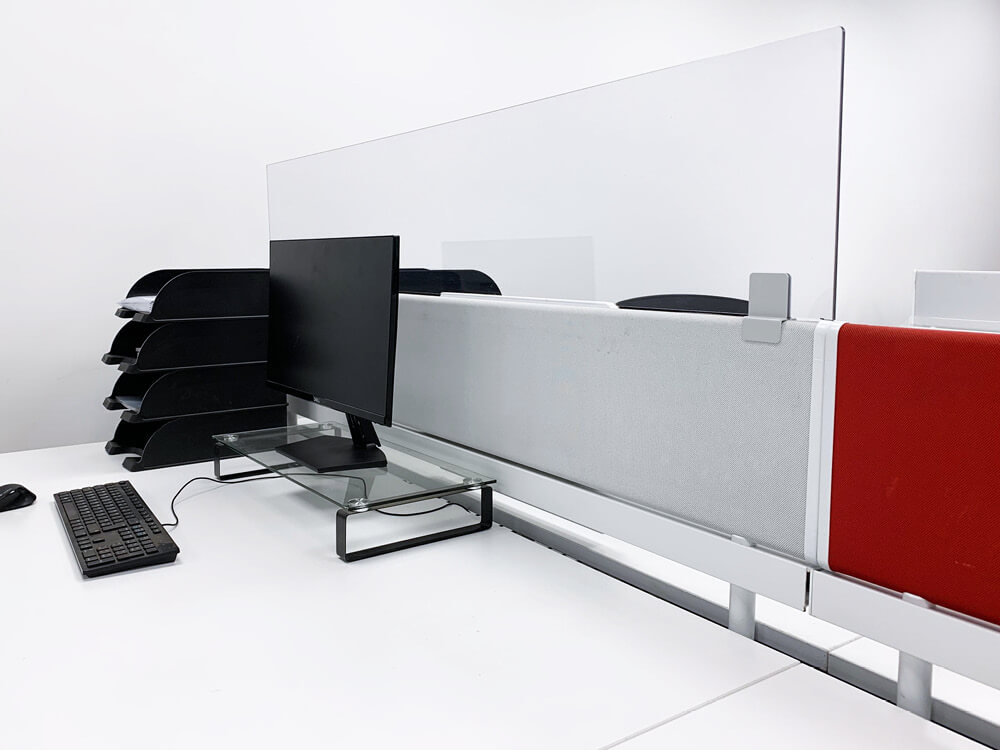 Office Desk Divider Extension