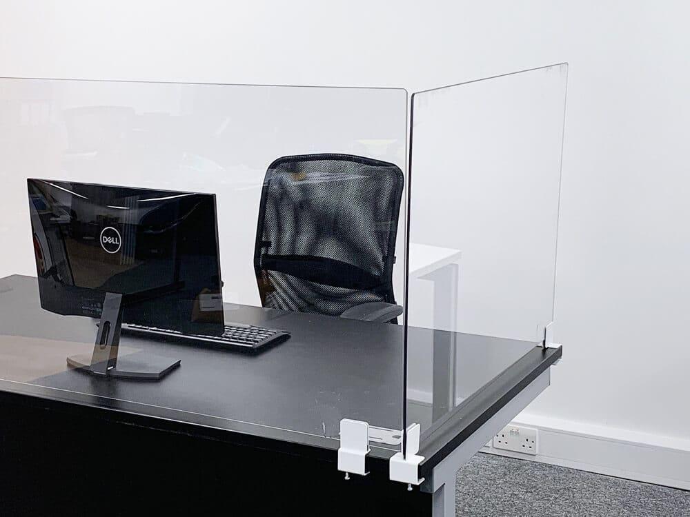 Office desk screen