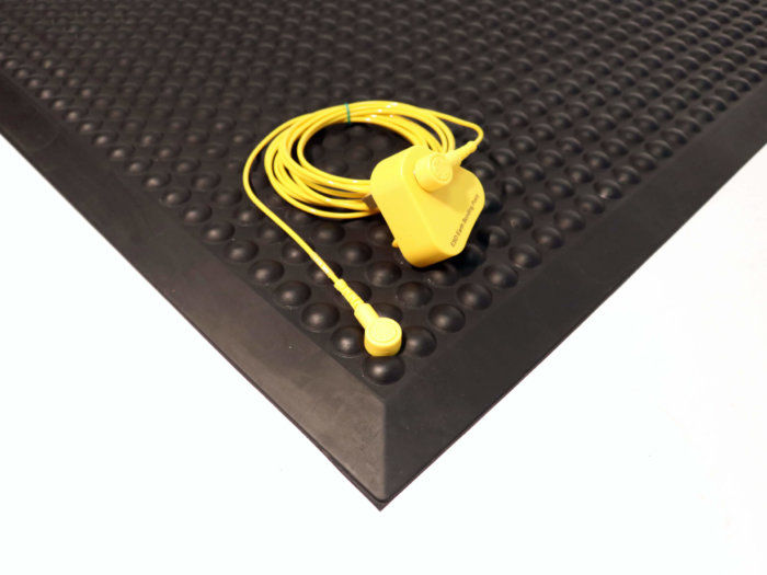 Cobaelite ESD Anti Fatigue Mat With Plug and Grounding Wire