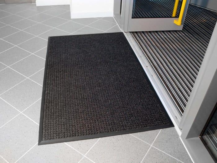 Superdry Grey Entrance Mat Outside Door
