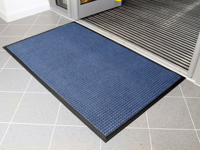 Blue Superdry Entrance Mat